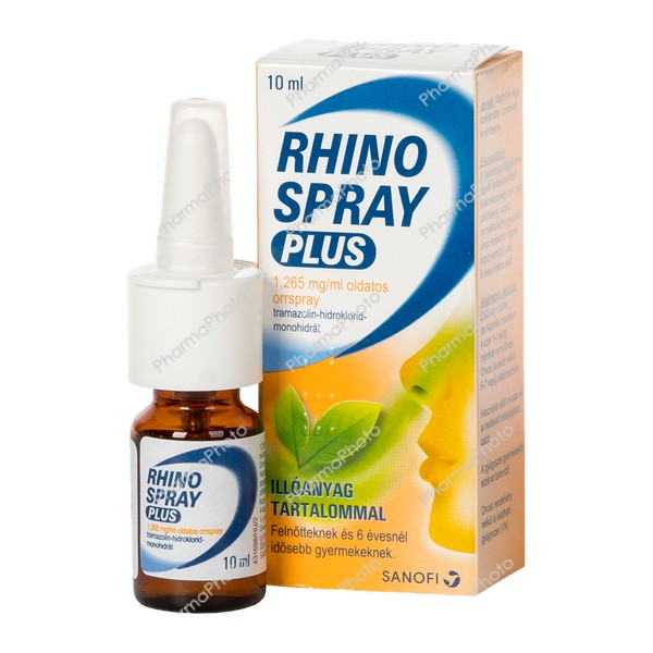 Rhinospray plus 1265 mgml oldatos orrspray 10 ml402565 2020 tn